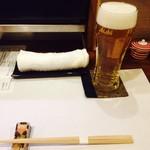 酒処 依屋 - 生ビール