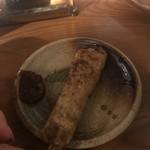 火ート - ふわふわジューシーなつくね 美味しくておかわりした!
