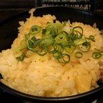 とんこつ らぁ麺 CHABUTON  - 八丁味噌のせ秋塩らぁ麺に付く五目御飯