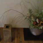 徳山鮓 - 玄関の生け花