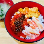 朝市の味処 茶夢 - 函館丼