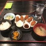 甲殻類倶楽部 - カキフライ定食