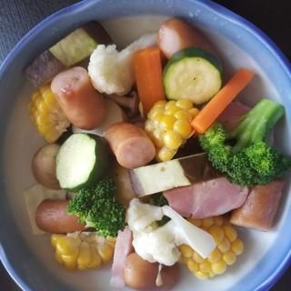 彩り野菜の温野菜