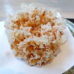 蕎麦流々 千角 - 桜海老のかき揚げ