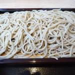 蕎麦流々 千角 - カドがしっかり立っている好みのお蕎麦です!