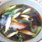 蕎麦流々 千角 - 九条葱に鴨もたっぷり^^