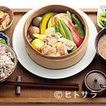 カムカム - 季節の味が楽しめる、せいろ蒸しの晩ご飯1500円