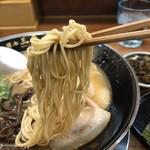 博多三氣 - 福岡県産 ラー麦の細麺