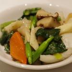 新世界菜館 - 野菜と海鮮の炒めもの