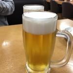 鮨人 - 2018年01月27日  オリオン生ビール 中 490円