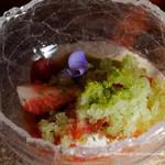 デセール ル コントワール - 苺バジルフロマージュブラン