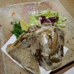 80509591 - 鯛のアラの唐揚げ