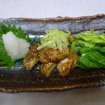 志ば田 - 牡蠣バター焼き