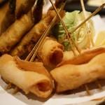 鮮魚と串揚げ なだ飯家 -