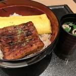 80512079 - 平日限定30食の錦糸丼!肝吸い付いて1950円(^○^)