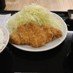 80512645 - ロースカツ定食 700円(税込)