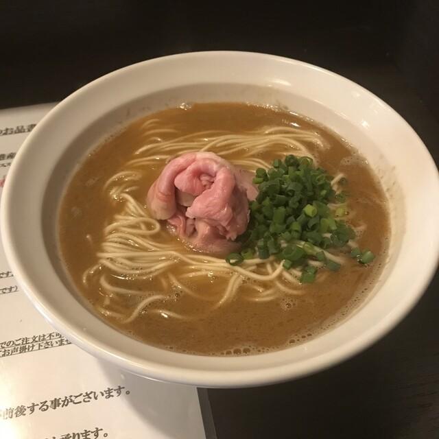 丿貫 - 二段仕込香蝦麺(シャンシャーミェン)。 税込900円。 美味し。