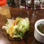 80513261 - サラダ、スープ
