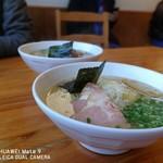 raァmenkinoko - 料理写真:煮干蕎麦(塩)