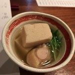 80515433 - お通し(高野豆腐)
