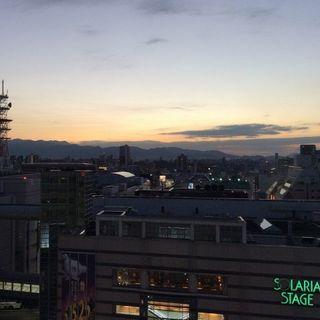 天神で視る夕方の景色♪