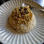 MOLE - レンズ豆とチキンのキーマカレー