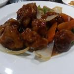 80517702 - ・黒酢酢豚定食 (3.0)