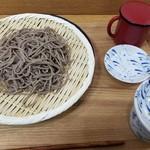 いわいたけし丼 - ざるそば(421円)