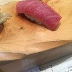 札幌シーフーズ - 大トロ。脂美味しい