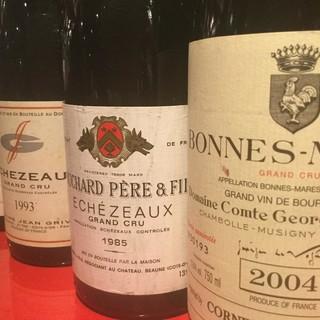 ソムリエこだわりワインのグランヴァン多数取り揃えております。