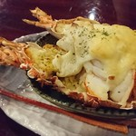 Bistro Dining Daiba屋 - 毛深伊勢海老のホワイトチーズグラタン