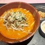 中国菜館 志苑 - 特製坦々麺850円