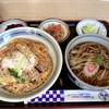 鴬宿 - 料理写真:かつ丼セット 980円