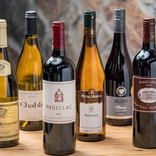 当店ソムリエが厳選したワイン北欧料理とワインのマリアージュ
