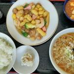 中国料理の店 ビックチャイナ - +150円でミニラーメン付き