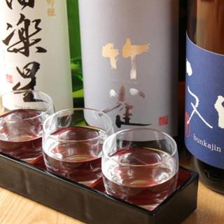 日本酒好きには、たまらないラインナップ