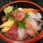 廻鮮寿司処 タフ - タフ丼