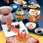 北海道かに将軍 - 料理写真:かにしゃぶしゃぶ祭り「根室」