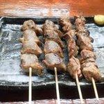 ねぎま家 - 日向鶏の砂肝・レバー