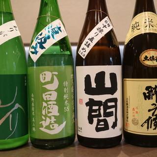 季節の旬を日本酒・焼酎で楽しむ◎