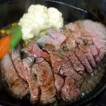 バラード - ローストビーフのステーキ仕立て