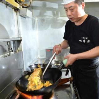 台湾出身のシェフ王海ビンの本番料理を味わってください。