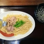 一酵や - レモン塩つけ麺(冷)、麺300g