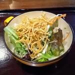 一酵や - 付属のサラダ