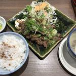 森商店 - 牛たん葱塩焼き定食