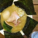 オモテナシヌードル まつじ - 料理写真:濃炊錦爽鶏だしそば、味玉、海苔