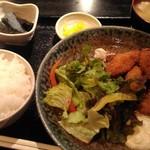 海鮮酒場ぱたぱた - カキフライ定食