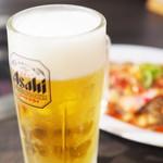 岩崎塾 - 生ビール中