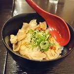 そば助大阪 - 豚ラー飯丼