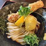 情熱うどん讃州 - 料理写真:ちく玉天ぶっかけ